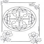 Mandala Kleurplaten - Mandala 14
