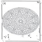 Mandala Kleurplaten - Mandala 18