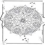 Mandala Kleurplaten - Mandala 19