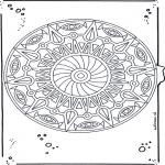 Mandala Kleurplaten - Mandala 20