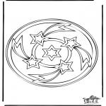 Mandala Kleurplaten - Mandala 34