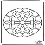 Mandala Kleurplaten - Mandala 35