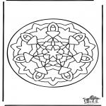 Mandala Kleurplaten - Mandala 36