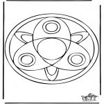 Mandala Kleurplaten - Mandala 37