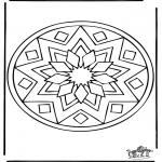 Mandala Kleurplaten - Mandala 39
