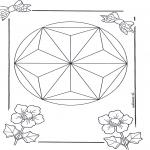 Mandala Kleurplaten - Mandala 6