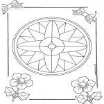 Mandala Kleurplaten - Mandala 7