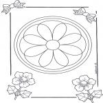 Mandala Kleurplaten - Mandala 8