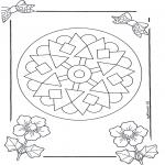 Mandala Kleurplaten - Mandala 9