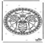 Mandala wesp