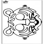 Knutselen - Masker 17