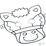 Knutselen - Masker Paard