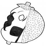 Knutselen - Masker piraat