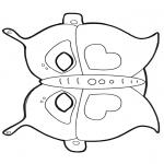 Knutselen - Masker Vlinder