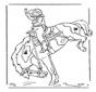 Meisje op paard 2