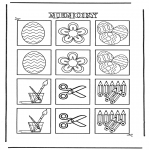 Knutselen - Memory 1