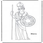 Allerlei Kleurplaten - Minerva
