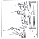 Allerlei Kleurplaten - Molens