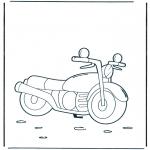 Allerlei Kleurplaten - Motor 1