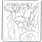 Stripfiguren Kleurplaten - Narnia 1