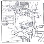 Stripfiguren Kleurplaten - Narnia 3