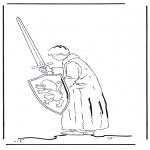 Stripfiguren Kleurplaten - Narnia 4