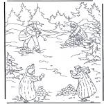 Stripfiguren Kleurplaten - Narnia 6