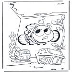 Kinderkleurplaten - Nemo 1