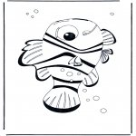 Kinderkleurplaten - Nemo 4