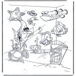 Kinderkleurplaten - Nemo 8