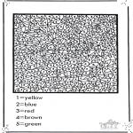 Knutselen - Nummerkleuren