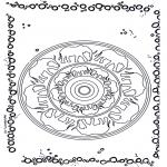 Mandala Kleurplaten - Olifanten mandala