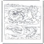 Kleurplaten Dieren - Otter