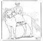 Paard met dame