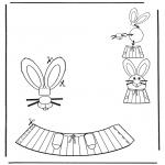 Thema Kleurplaten - Paasei versiering 6