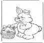 Paashaas met eieren 2