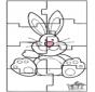 Paashaas puzzel 3