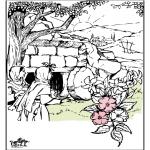 Kleurplaten Bijbel - Pasen Bijbel 3