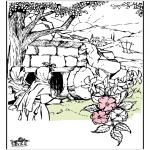 Kleurplaten Bijbel - Pasen Bijbel 9