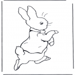 Allerlei Kleurplaten - Peter Rabbit