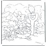 Allerlei Kleurplaten - Pieter Konijn 2