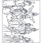Kleurplaten Bijbel - Pinksteren 1