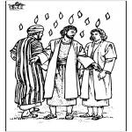 Kleurplaten Bijbel - Pinksteren 3