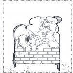 Kinderkleurplaten - Pino van Sesamstraat