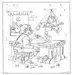Allerlei Kleurplaten - Pinokkio