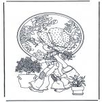 Allerlei Kleurplaten - Planten water geven