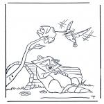 Stripfiguren Kleurplaten - Pocahontas 3