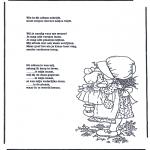 Knutselen - Poeziealbum versjes 1