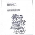 Knutselen - Poeziealbum versjes 19