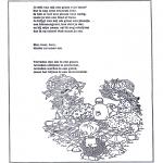 Knutselen - Poeziealbum versjes 20
